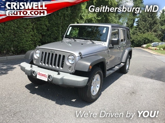 2014 Jeep Wrangler Unlimited Sport In Gaithersburg, MD   Criswell Chrysler  Jeep Dodge Ram FIAT