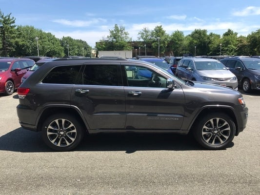 2018 Jeep Grand Cherokee Overland In Gaithersburg Md Criswell Chrysler Dodge Ram Fiat