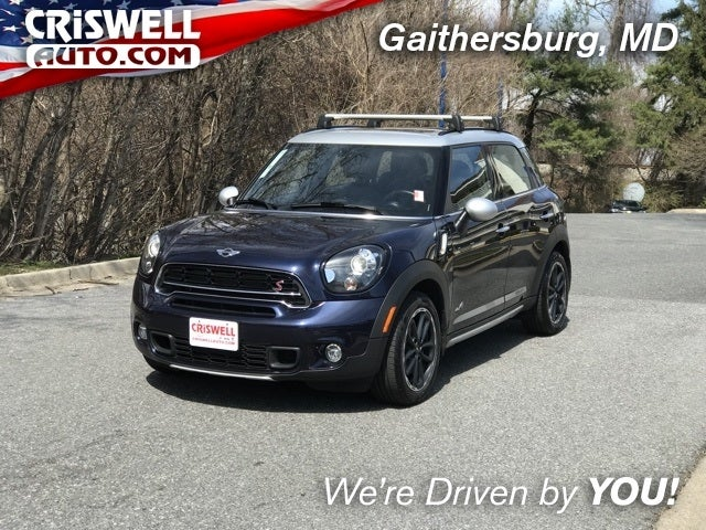 Shop The 2016 Mini Cooper S Countryman In Gaithersburg Md At